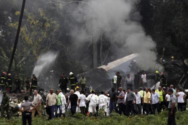 Megtalálták Havannában lezuhant repülőgép második feketedobozát