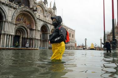 Több mint egy méteres vízszintemelkedés veszélyeztetheti Velencét a következő évtizedekben