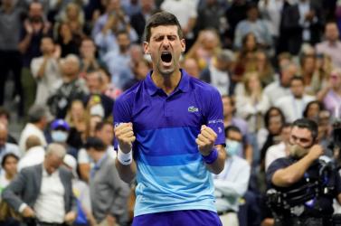 US Open: Djokovic és Medvegyev játssza a férfi döntőt