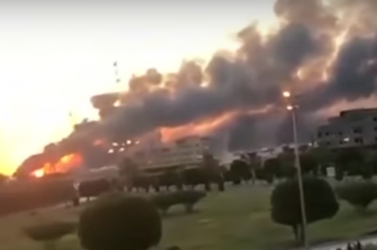 Dróntámadás érte a világ leggazdagabb olajvállalatát (VIDEÓ)