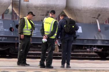 BORZALOM: Szénné égett egy férfi a szlovák vasútállomáson, senki nem tudott segíteni!