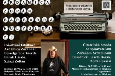 Író-olvasó találkozó Ardamica Zoránnal a Füleki Városi Könyvtárban
