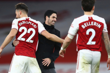 Premier League - Háromgólos hátrányból mentett pontot az Arsenal