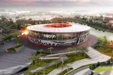 Leállították az AS Roma stadionjának építését