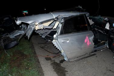 TRAGÉDIA: Két fiatal vesztette életét a ripityára tört Audiban!