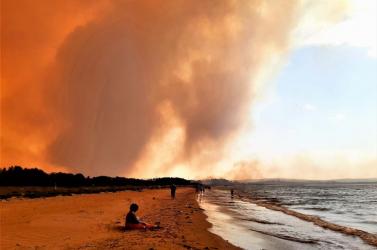 Chilében is érezni az ausztráliai tüzek füstjét