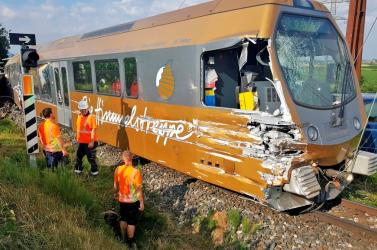 Kisiklott egy vonat Ausztriában!