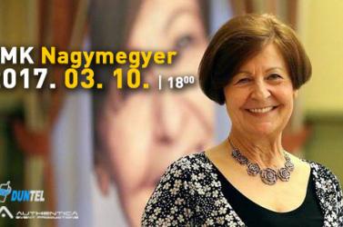 Prof. Dr. Bagdy Emőke előadása Nagymegyeren: Elengedés, megbocsátás, újrakezdés.