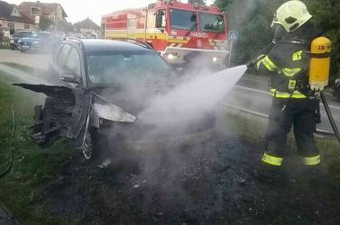 Kiégett egy Volvo Ollétejedben
