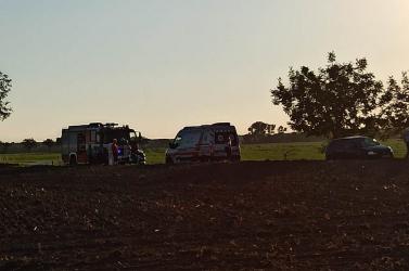 BALESET: Motoros sérült meg Vásárút és Csallóközkürt között