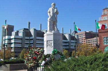 Baltimore-ban is ledöntötték Kolumbusz szobrát (Videó)