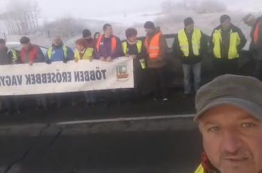 Már a szlovákiai határt nyaldossa a magyarországi tiltakozás