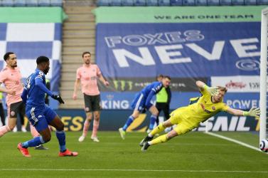 Premier League: Gálázott a Leicester City, Iheanacho triplázott