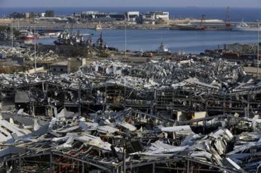 Bejrúti robbanás - Ismét teljes kapacitással működik a főváros kikötője
