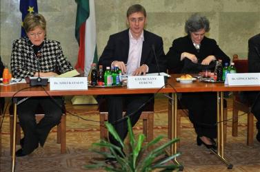 A szlovák államnyelvtörvényről is tárgyal Göncz Kinga