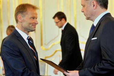 Andrej Kiska kinevezte az új gazdaságügyi minisztert