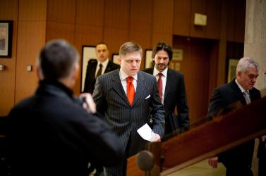 Kusý: Fico sajtóértekezlete kacsa volt