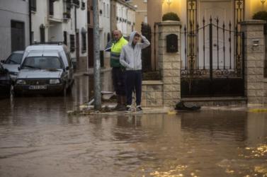 Heves zivatar okozott áradásokat Belgrádban