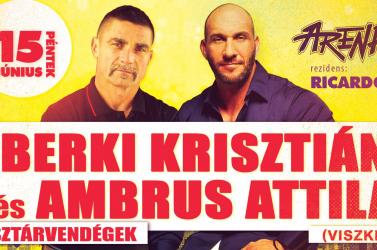 Találkozz Berkivel és a Viszkissel a dunaszerdahelyi Arénában!