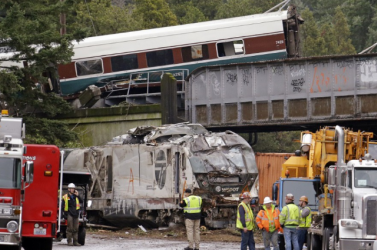 Gyorshajtás okozta az amerikai vasúti szerencsétlenséget