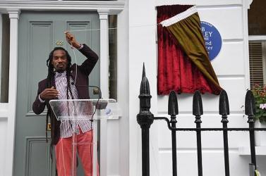 Bob Marley emléktáblát kapott Londonban