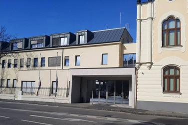 Megint ki kellett üríteni a Dunaszerdahelyi Járásbíróság épületét