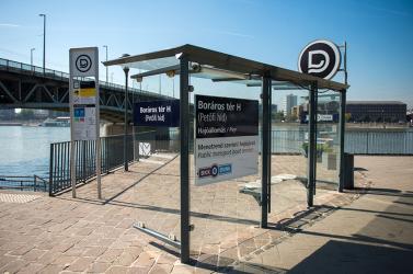 A Dunából mentettek ki egy nőt Budapesten