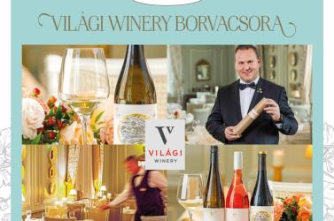 Meghívó a Világi Winery borvacsorára
