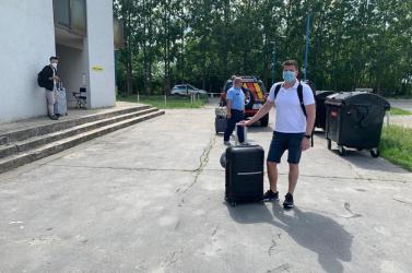Pénteken az utolsó hazatérők is elhagyhatták a bősi karanténközpontot