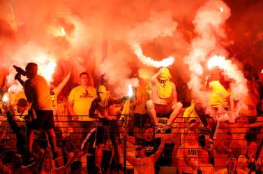 Vb-selejtezők: Futballszurkolók randalíroztak Brüsszelben, több rendőr megsebesült