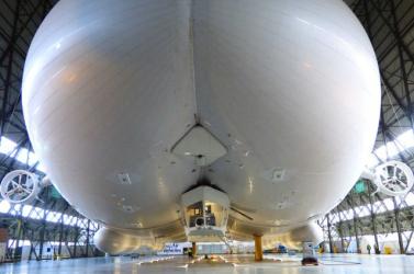Sikeresen tesztelték a világ legnagyobb légi járművét
