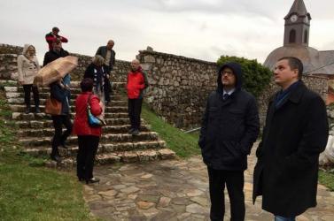Új lendületet kap Krasznahorka felújítása – Krasznahorkán járt a kulturális államtitkár