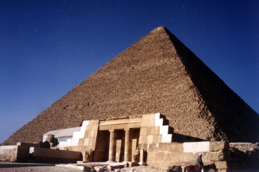 Érdekes dolog derült ki a gizai nagy piramisról