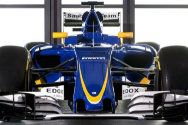Forma-1: Leleplezte autóját a Sauber