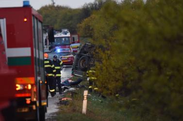 Nyitragerencséri buszbaleset: 75 ezer euró adomány gyűlt össze