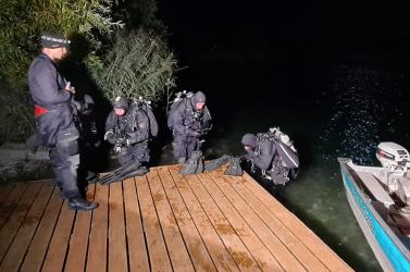 Megtalálták az eltűnt rendőr holttestét a feketenyéki tóban