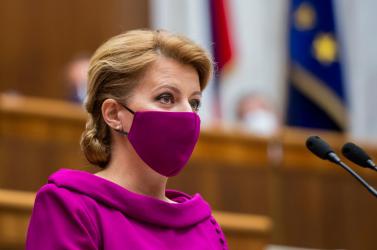 Lehet, hogy megbukik az egész kormány, ezzel magyarázzaČaputová, miért nem nevezi ki az új minisztert