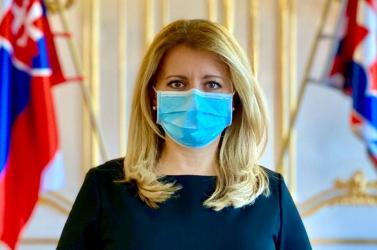 Zuzana Čaputová is tapsolt a koronavírus-járvány hőseinek pénteken este