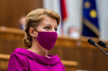 Čaputová: Csak a bírók tarthatnak tükröt az igazságszolgáltatás elé