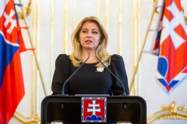 Čaputová szerint a rendőrség és az ügyészség együttesen barmolta el a Trnka-ügyet
