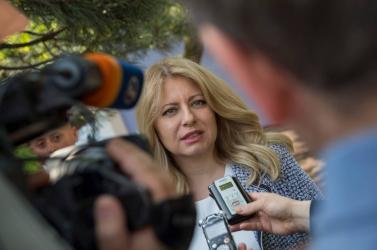 Čaputová aláírta a PS és Kiska ellen 24 óra leforgása alatt meghozott törvényt, de súlyos fenntartásokkal