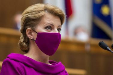 Čaputová értékeli a Bírói Tanács javaslatát a bírók nyugdíjazásáról