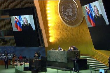 Oltási önzésről beszélt az ENSZ Közgyűlésén Zuzana Čaputová