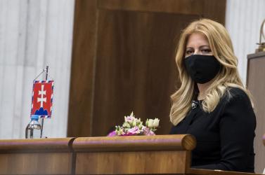 Čaputová szerint az ombudsmani jelentés tudomásul vétele a tisztelet jele