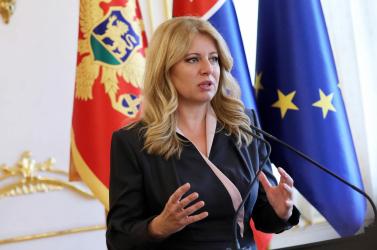 Čaputová az európai kihívásokról fog beszédet mondani Aachenben