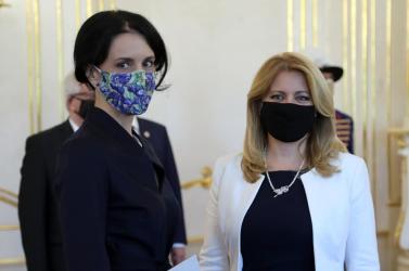 Čaputová: Tiszteletre méltó Cihanouszkaja igyekezete és reményteljes hozzáállása