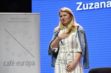 Čaputová a Pohoda fesztiválon: A társadalmi színvonal fokmérője a civil társadalom érzékenysége