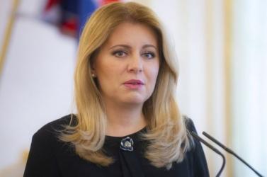 Zuzana Čaputová négyszemközt találkozik a Szentatyával