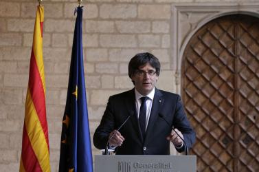 Puigdemont Brüsszelből folytatja a harcot a katalán függetlenségért
