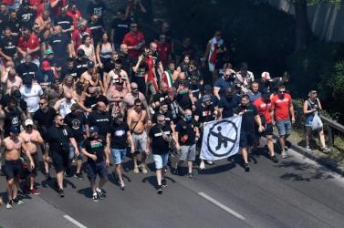 EURO-2020: Az UEFA 100 ezer euróra és három zárt kapus mérkőzésre büntette a magyar szövetséget a szurkolók miatt